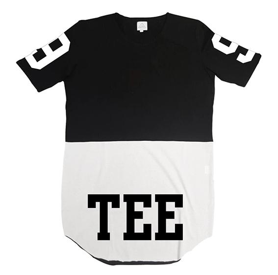 Tee-Nove Front/Back B&W