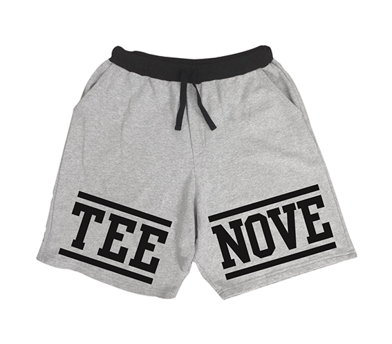 Grey Large Shorts Tee-Nove