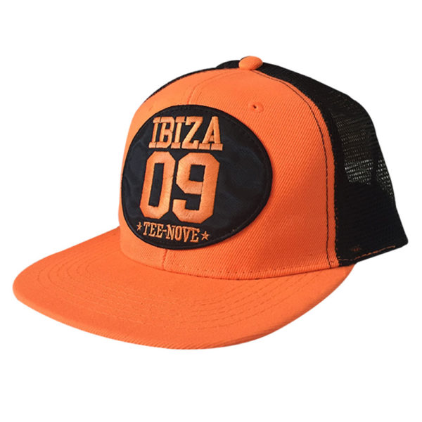 Tee-Nove cappello Snapback-orange-Ibiza-triangolo