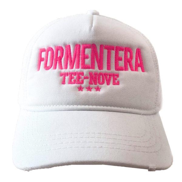 Cappello Formentera Tee-Nove fucsia