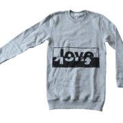 Felpa Love Fuck # Tee-Nove