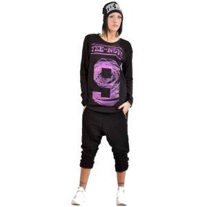 t-shirt-tee9-Maglia maniche lunghe vortice rosa