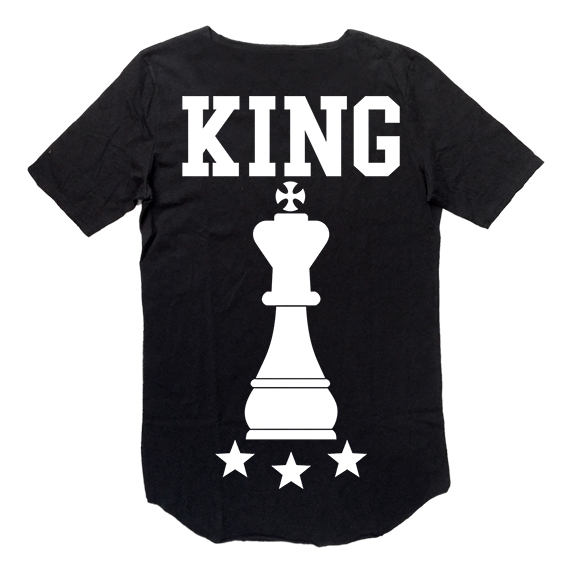 Tee-Nove King Black