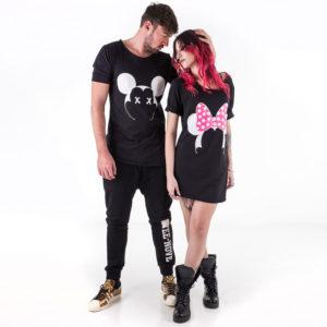 T-shirt di coppia Tee-Nove TN94-TN95