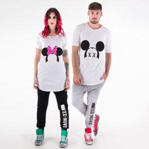 T-shirt di coppia Tee-Nove tn94 tn95