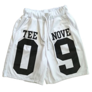 Short bianco Tee-Nove