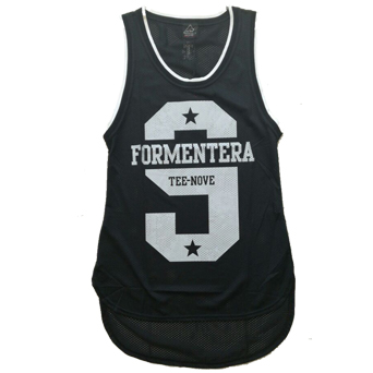 Canotta Tee-Nove Formentera black
