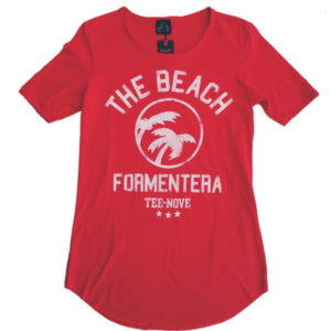 Tee-Nove T-Shirt The Beach Formentera