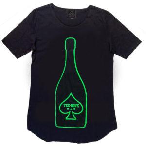 T-shirt-Tee-Nove - champagne
