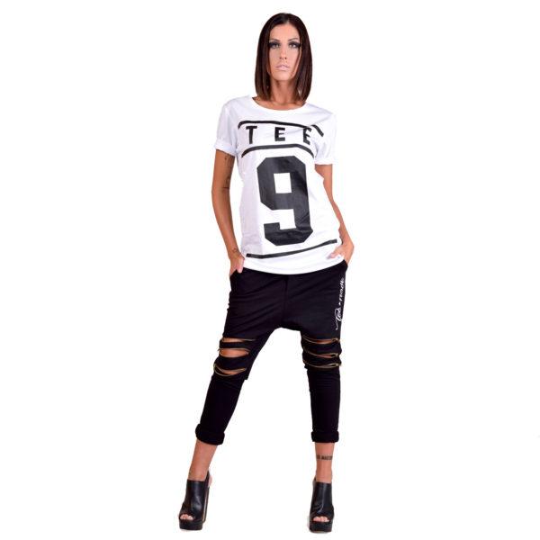 Tee-Nove T-shirt classic bianca