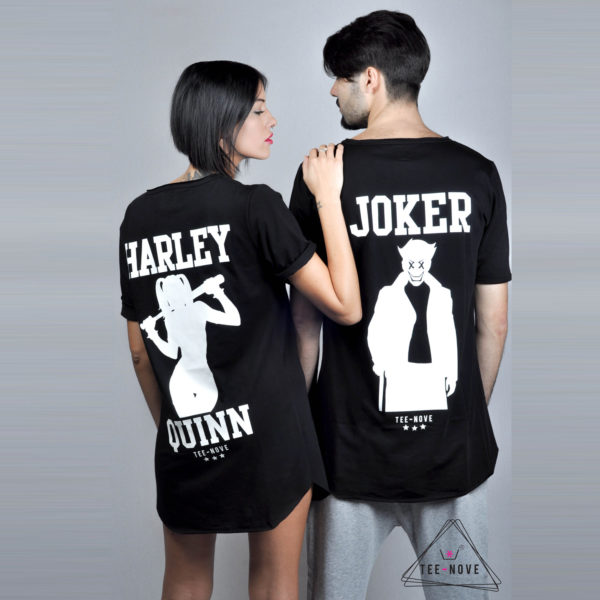 Tee-Nove T-shirt Harley & Joker