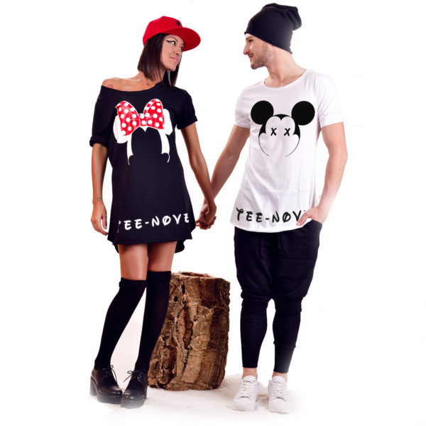 Tee-Nove-T-shirt-Mickey-&-Minnie
